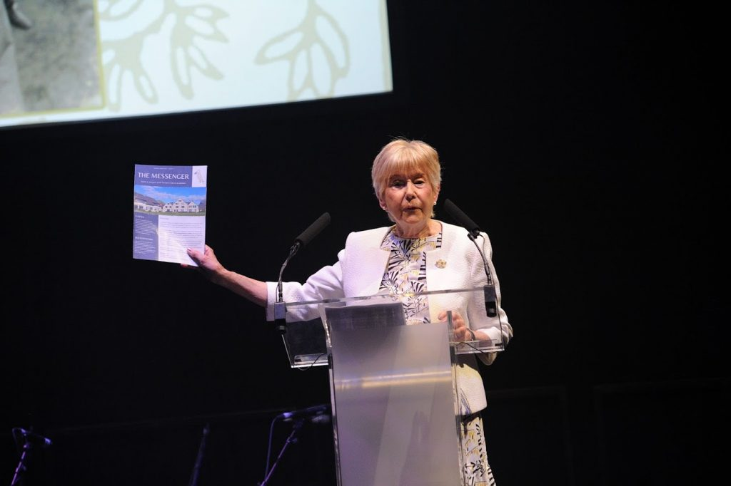 Virginia Stourton as Prior Fields School Speech Day 2019